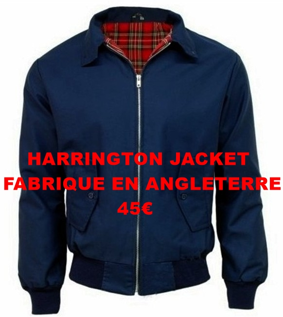 harrington jacket made in england 42€